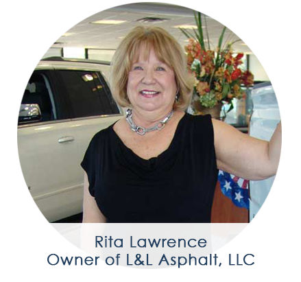 Rita, Owner of L&L Asphalt